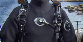 Backplate, Harness, Wing for recreational divers